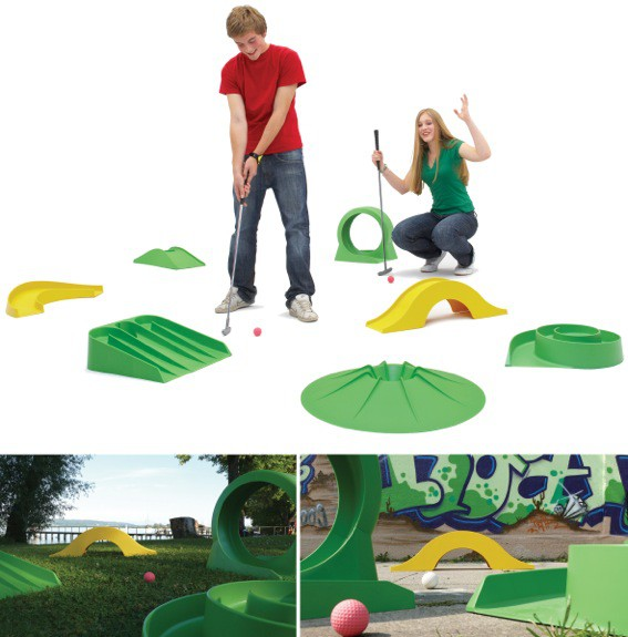 minigolf komplettset pro das geniale minigolf set f r die ganze familie. Black Bedroom Furniture Sets. Home Design Ideas