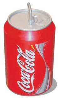 coca cola dose cool can 10 l mini k hlschrank ebay. Black Bedroom Furniture Sets. Home Design Ideas